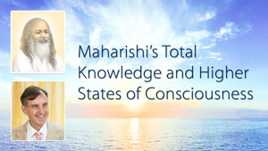 Pictures of Maharishi and Dr. Peter Warburton * Total Knowledge and Higher States of Consciousness