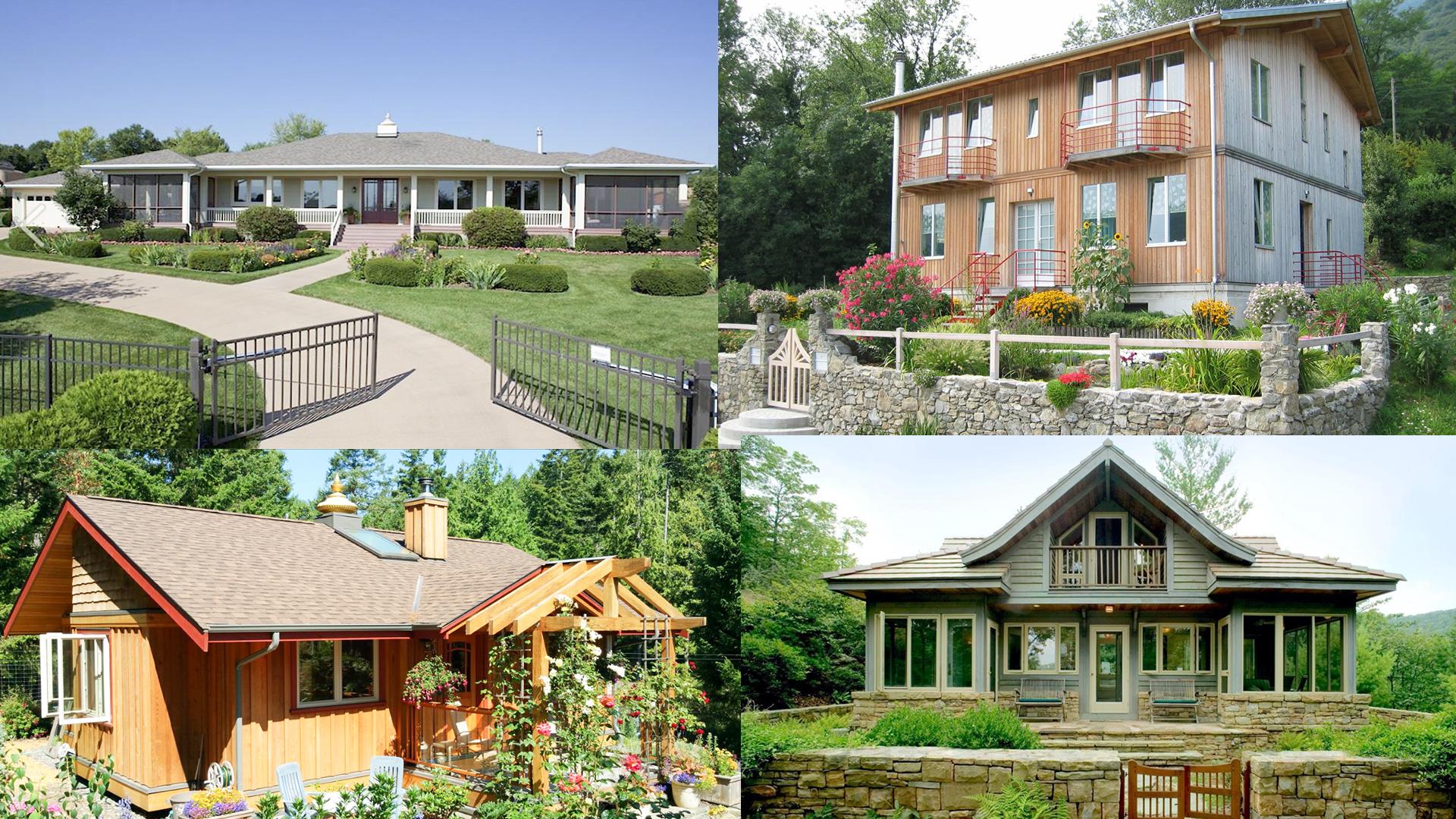 Four different Maharishi Vastu homes